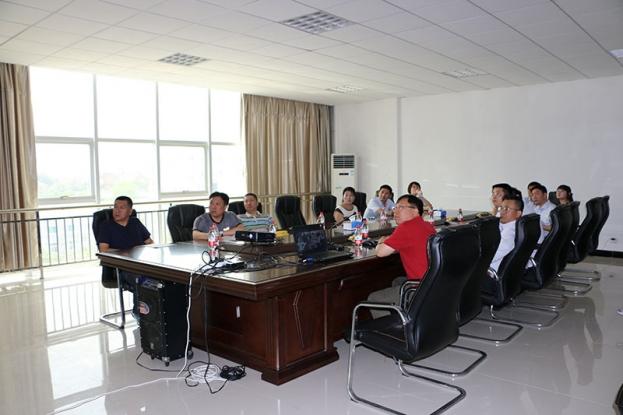 集团领导莅临公司参观指导工作